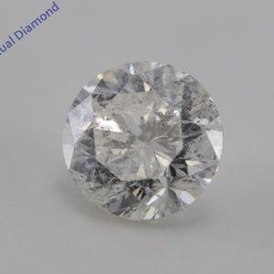 Round Cut Loose Diamond 1.26 Ct I K.M C200266